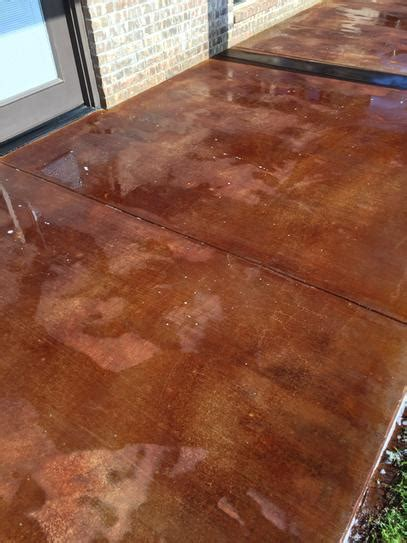 eagle  gal rustic interiorexterior concrete acid stain