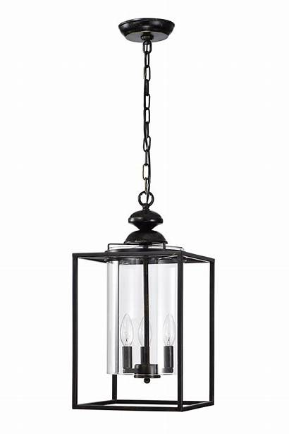 Chandelier Hurricane Glass Metal Lantern Shade Bronze