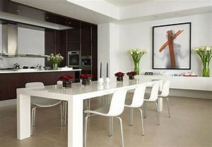 Weißer Esstisch Mit Stühlen : gro er wei er esstisch lilashouse ~ Markanthonyermac.com Haus und Dekorationen