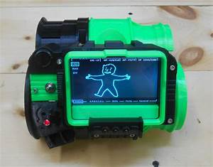 From The Forums   3dprinted Pipboy 3000 With Adafruit