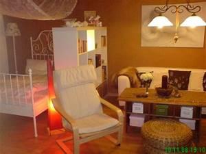 Wohn Schlafzimmer Kombinieren : wohnzimmer 39 wohn und schlafzimmer herbst winter 39 home sweet home zimmerschau ~ Orissabook.com Haus und Dekorationen