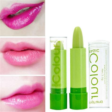 green color changing lipstick aloe vera lipsticks color mood changing