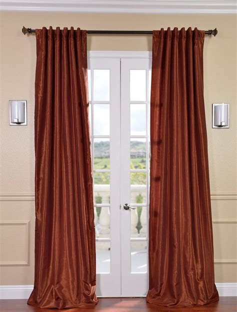 1000 ideas about burnt orange curtains on