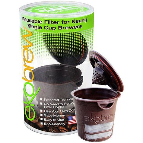 Alibaba.com offers 2761 coffee filter single cup products. Ekobrew 2.0 K Cup Reusable Coffee Filter, Brown Reusable Filter - Walmart.com - Walmart.com