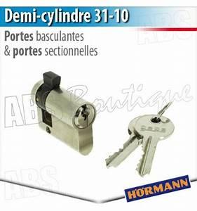 demi cylindre profile pour serrure basculante et With porte de garage sectionnelle avec cylindre serrure