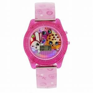 Shopkins Pink Rotating Flashing Watch Shop Your Way