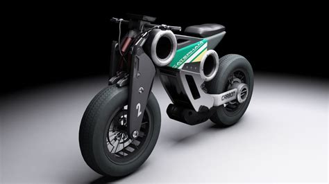 Futuristic Motorcyle : Motor Cycle Model