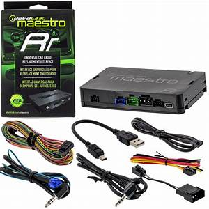 Idatalink Maestro Rr Radio Replacement Interface With Steering Wheel Controls