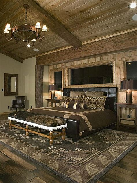 small log homes floor 50 rustic bedroom decorating ideas decoholic
