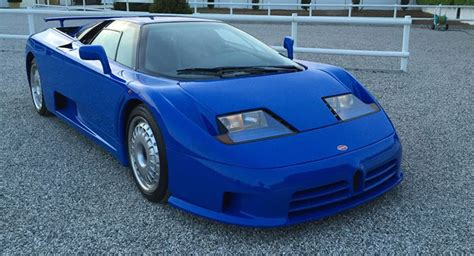 Mighty Bugatti Eb110 Gt Is Offered For Sale