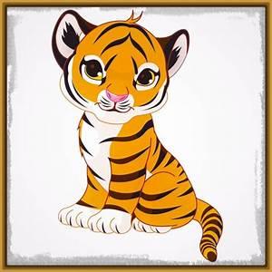 Dibujos de Tigres para Niños Grandes Imagenes de Tigres