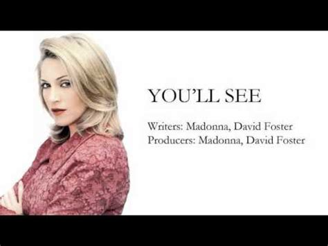 You'll See - Instrumental - YouTube