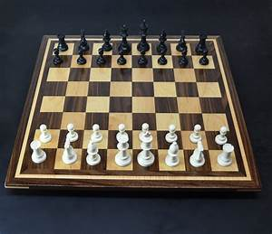 Sweet Hill Wood Chess Boards  Walnut And Maple Chess Board