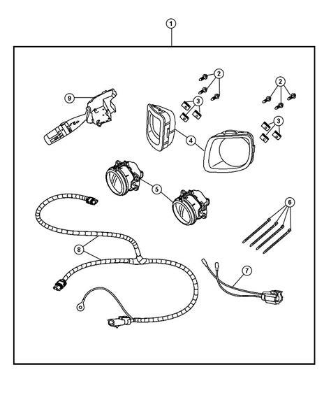 Pt Cruiser Fog Light Wiring Diagram by Chrysler Pt Cruiser Light Kit Fog 82209997 Factory
