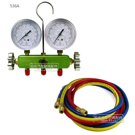 r134a r22 r12 manifold set refrigerant freon a c air conditioning