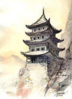 chinese architecture drawing pagoda drawing chinese pagoda