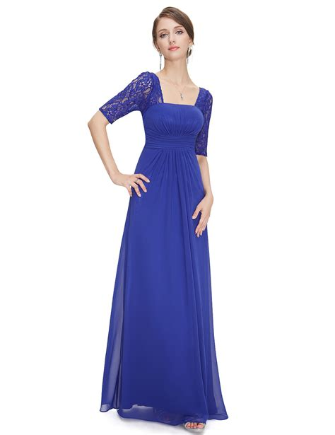 Ever Pretty Long Bridesmaid Party Prom Formal Evening