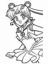 Sailor Moon Coloring Pages Printable Anime sketch template