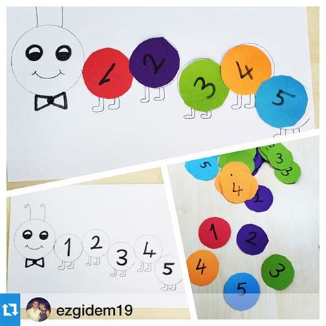 crafts actvities and worksheets for preschool toddler and 787 | number craft idea