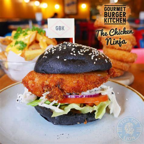 chicken ninja gourmet burger kitchen feed  lion