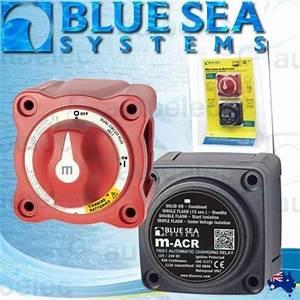 Blue Sea 7649 Vsr    Acr Voltage Sensitive Relay 12v Marine