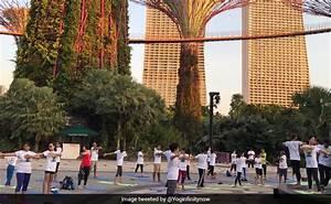 Singapore Celebrates International Day Of Yoga