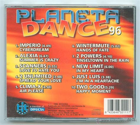 Cd  Planeta Dance 96  Bit Music  1996 (3 Dis Comprar