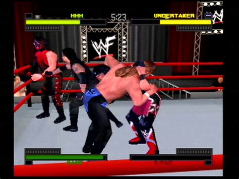 Wwf Warzone For The Sony Playstation