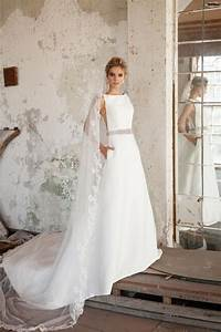 40 simple wedding dresses with standout details modern With simple modern wedding dress