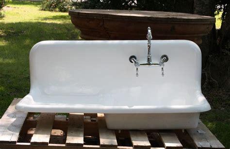 cast iron porcelain drainboard farmhouse sink