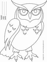 Owl Coloring Cartoon Pages Drawing Printable Popular Getdrawings Library Clipart sketch template