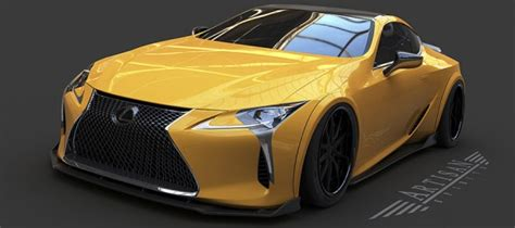 spotlight artisan lexus lc  body kit