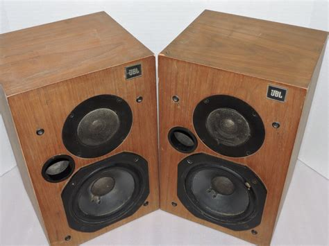The Gallery For --> Vintage Jbl Bookshelf Speakers