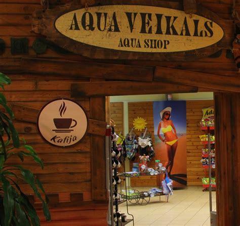 Līvu Akvaparks - Veikals