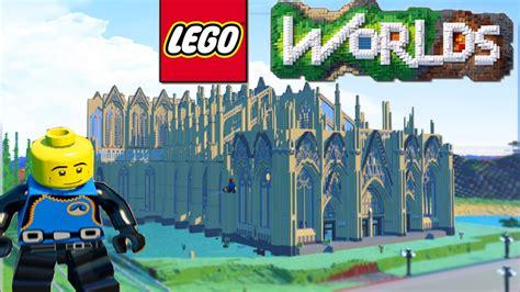 lego worlds lego land building biggest city sky base