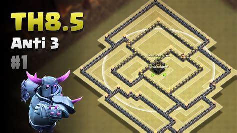 5 anti 3 war base clash of clans th8 5 anti 3 war base 1 no cc 5 an