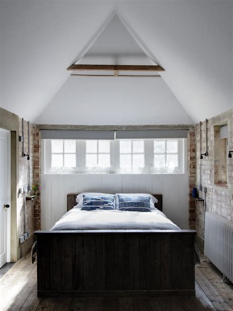garage conversion   stylish guest room mark lewis