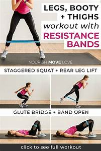 8 Best Leg Exercises With Resistance Bands In 2020