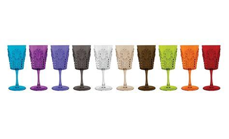 Bicchieri A Calice Colorati by Bicchieri Di Plastica Colorati E Divertenti Le Pi 249