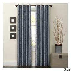 color block curtains on