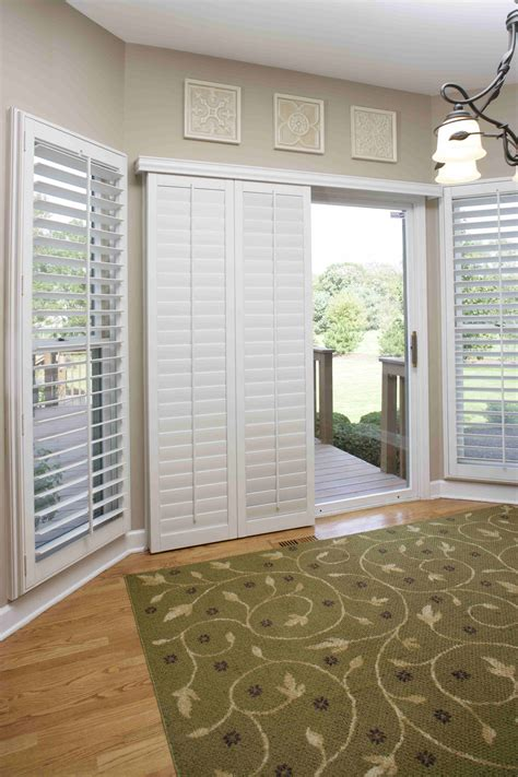 sliding door shutters sliding glass door window shutters cleveland shutters