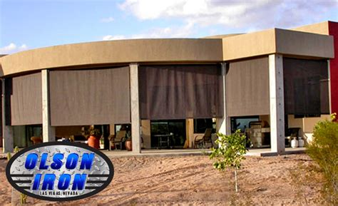 las vegas rolling shutters and drop shades residential