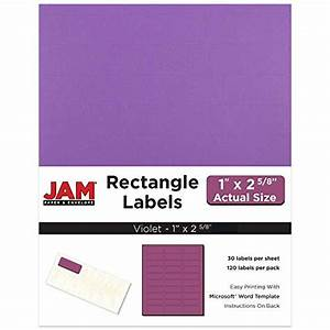 jam paper mailing address labels small 1quot x 2 5 8 With 4 x 2 5 labels