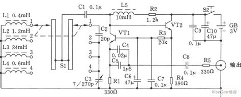 Simple High Low Frequency Signal Generator Circuit