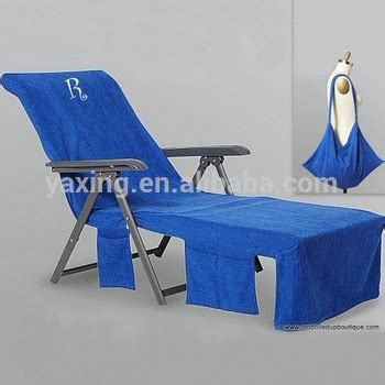 microfiber towel lounge chair cover view