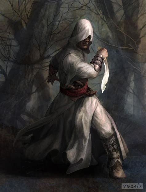 Assassins Creed Concept Art Shows Female Protagonist