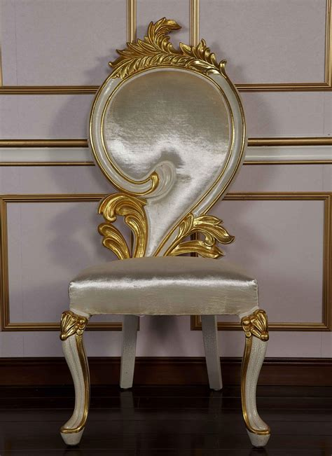 2017 antique italian style dining chairs made in china