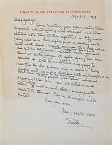 ernest hemingway autograph letter signed quoternestoquot 19 apr With autograph letter signed