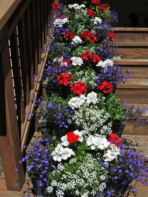 Front Porch Outdoor July Decorating Ideas The