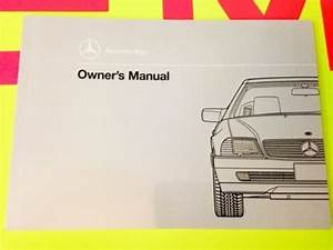 1990 Mercedes Sl Sl300 Sl500 Owners Manual 300sl 500sl 500  U0026quot Rare Red Tab New Nos